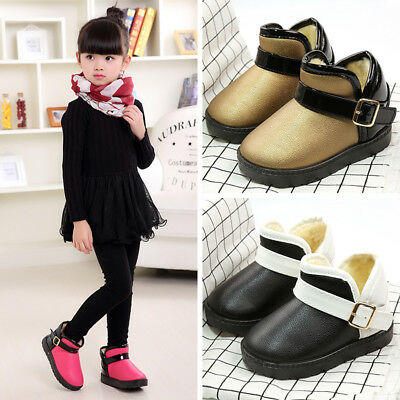 Toddler Kids Baby Shoes Mixed Colors Girls Boys Winter Snow Boots Shoes