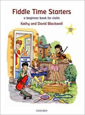 Fiddle Time Starters + CD A beginner book for violin 9780193365841