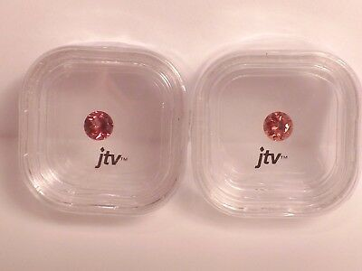 Rare Matched Pair of Masasi Borduex Garnets new in original sealed case