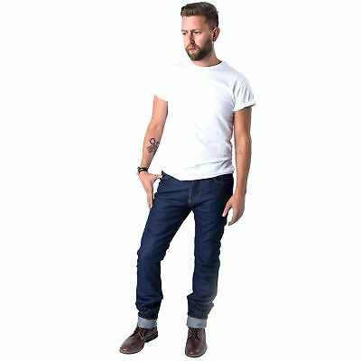 Dickies FD Relaxed Fit Denim Motorcycle / Bike / MC Jeans / Trousers In Indigo