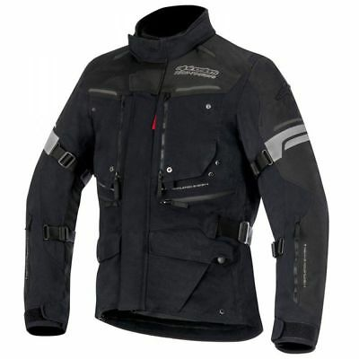 Alpinestars Tech-Air Valparaiso Textile Drystar Motorcycle / Bike Jacket - Black