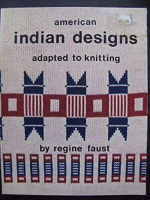 AMERICAN INDIAN DESIGNS ADAPTED TO KNITTING (machine)