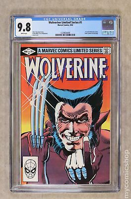 Wolverine (1982 Limited Series) #1 CGC 9.8 1229600009