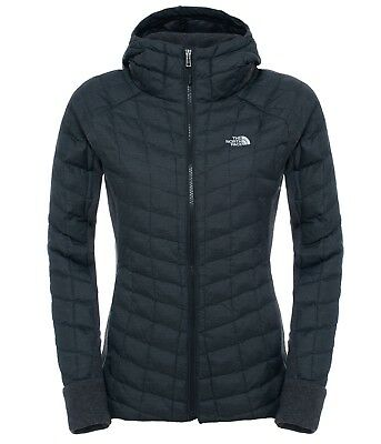 Fleecejacke The North Face Womens Thermoball Gordon Lyons Hoodie tnf black XL