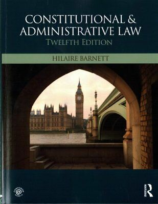 Constitutional & Administrative Law by Hilaire Barnett (Paperback, 2017)