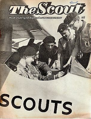 1 SEPTEMBER 1962 Vintage Magazine The Scout 46422