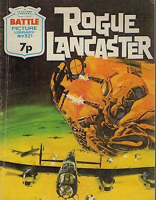 1974 No 821 34972  Battle Picture Library  ROGUE LANCASTER