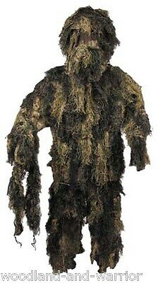 Tenue Camouflage Sniper Ghillie Suit Camouflage Woodland