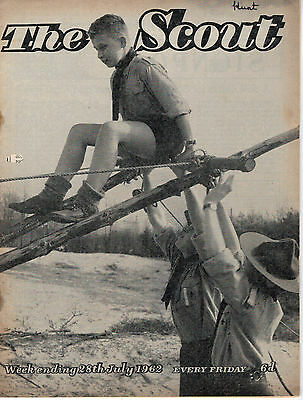 28 JULY 1962 Vintage Magazine The Scout 45922