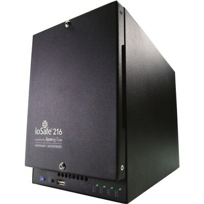 NEW ioSafe 216-4TB1YR 216 SAN/NAS Server with WD Red Hard Drives 512MB Storage
