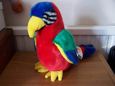 Ty Beanie Buddy - JABBER - THE PARROT