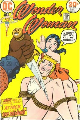 Wonder Woman (1942 1st Series DC) #209 VG 4.0 LOW GRADE
