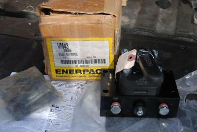 Enerpac Vm43 4 Way 3 Position Manual Valve New Pump Mounted