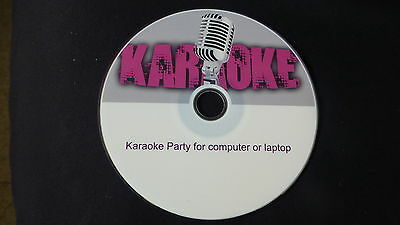 The Ultimate Karaoke Party player for pc laptop 40,000 songs on  DVD disk