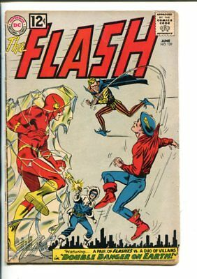 THE FLASH  #129-1962-GOLDEN AGE FLASH COVER-good/vg