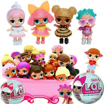 LOL SURPRISE DOLL Surprise LQL Queen Toy Gift 2 Surprise Dolls Series1 +2 Toys
