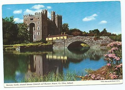 Colour Postcard of Bunratty Castle, County Clare, Ireland