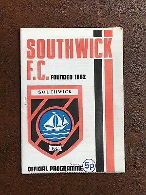 Southwick V Waterlooville 1977-78