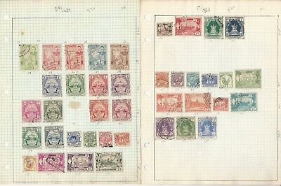 Burma Collection on 9 Pages,  All Different, Lots of Nice Stamps