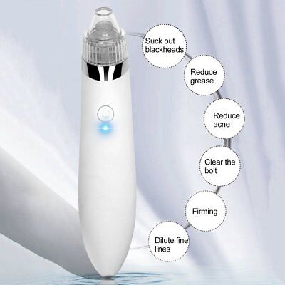 Electric Face Pore Cleanser Vacuum Suction Blackhead Eliminator Acne Remover WSA