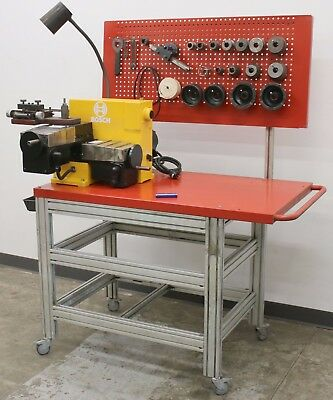 Bosch 8922 Brake Lathe for Rotors & Drums w/ Adapters & Accessories AccuTurn