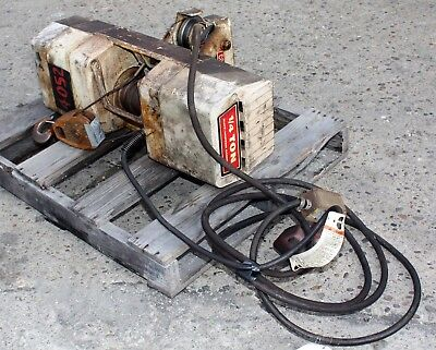 Duff-Norton, 500 LB. Coffing ¼ Ton Wire Rope hoist-SPC-7741-USED