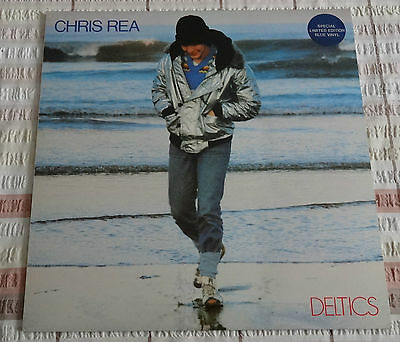 "Chris Rea Deltics 12"" 33Rpm Vinyl Lp Magnet Records Mag L 5028 1979 Blue Vinyl"