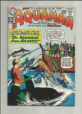AQUAMAN  3 VFN 1962  CENTS SILVER AGE DC COMICS Comic Book
