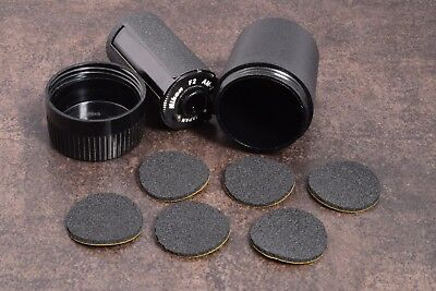 6X Replacement Adhesive Foam Discs For Nikon F F2  Am-1 Film Cassette Case Cp-7