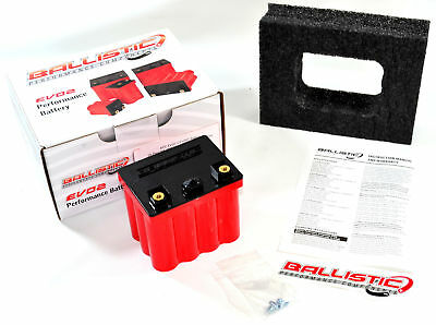 Lithium Battery EVO2 12 Cell L Ballistic 103-012L - Scooter Applications