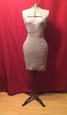 Vintage ACME Miracle Stretch Dress Form Size A Adjustable Sewing Mannequin