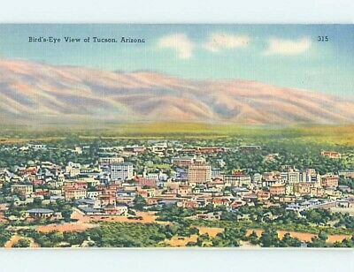 Unused Linen AERIAL VIEW Tucson Arizona AZ A4703