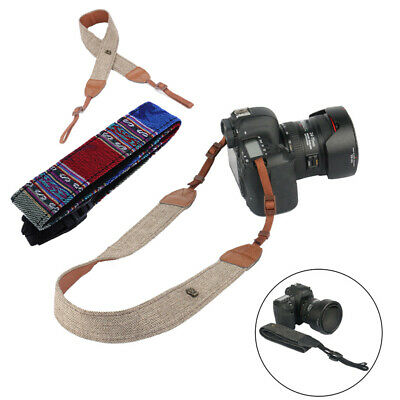 Camera Shoulder Neck Vintage Strap Belt for Sony Nikon Canon Olympus DSLR E0Xc