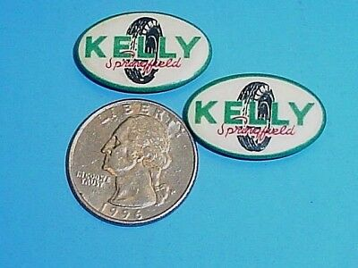 Two Vintage Kelly Springfield Tire Pins