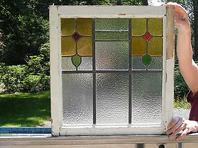 >>2nd of 3  Nice Stained Glass Window no cracks  pickup middlefield ct 06455