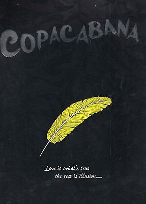 Programme -Copacabana - The Musical From 1994