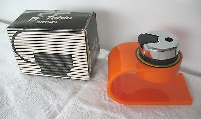 New old stock vintage retro modernist style 70's  Tabic table lighter with box