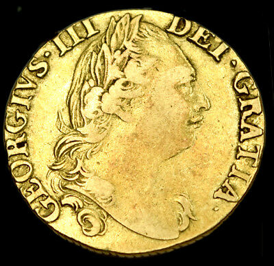 KING GEORGE THE III 1782 GOLD GUINEA with C of A