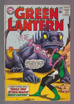 Green Lantern # 34 Three-Way Attack Against Green Lantern ! grade 5.5 scarce !!