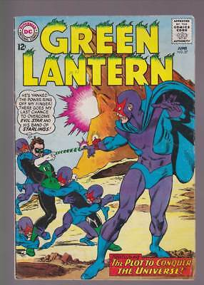 "Green Lantern # 37 The Spies Who ""Owned"" Green Lantern ! grade 4.5 scarce book !"