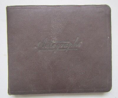 Vintage Autograph Sketch Book - some drawings & poems - 1947 / 1950