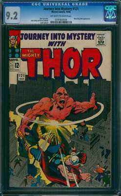 Journey into Mystery # 121  Fury of the Absorbing Man !  CGC 9.2 scarce book !