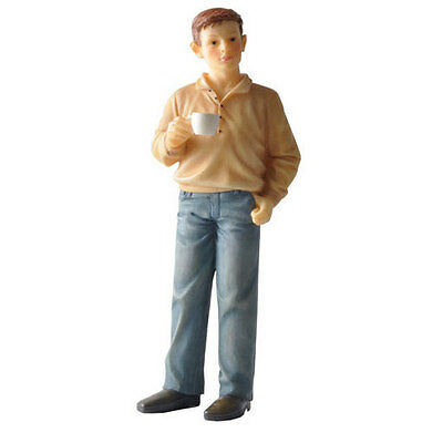 Poly resin Dolls house figure Ross