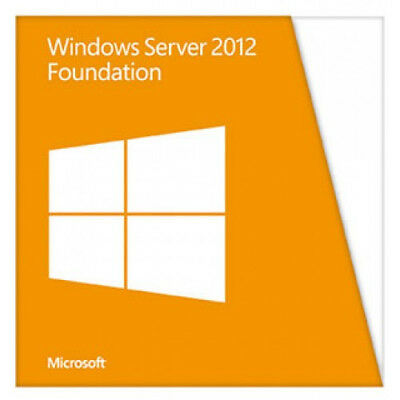 NEW! Dell Microsoft Windows Server 2012 R2 Foundation Licence 1 Server Oem Resel