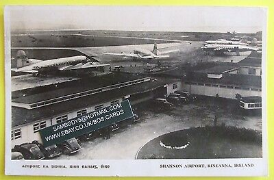 RP Postcard POSTED 1948 SHANNON AIRPORT RINEANNA IRELAND