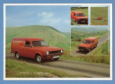 Post Office / Royal Mail Postcard - Mail Van In The Black Mountains In Wales