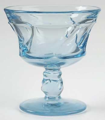 Fostoria JAMESTOWN BLUE Champagne Sherbet Glass 147429