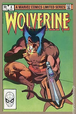 Wolverine (1982 Limited Series) #4 VF- 7.5