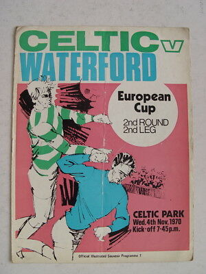 Celtic v Waterford 1970/71 European Cup