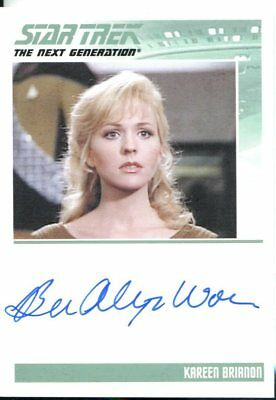 Star Trek The Complete Next Generation Series 2 Autograph Barbara Alyn Woods